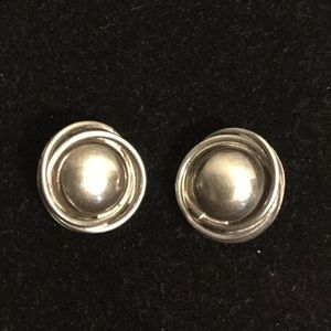 925 Sterling silver Mexico clip on earrings